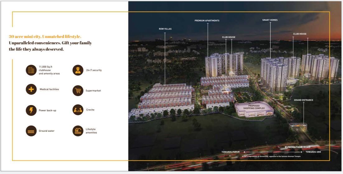 3 BHK - Shriram Divine City