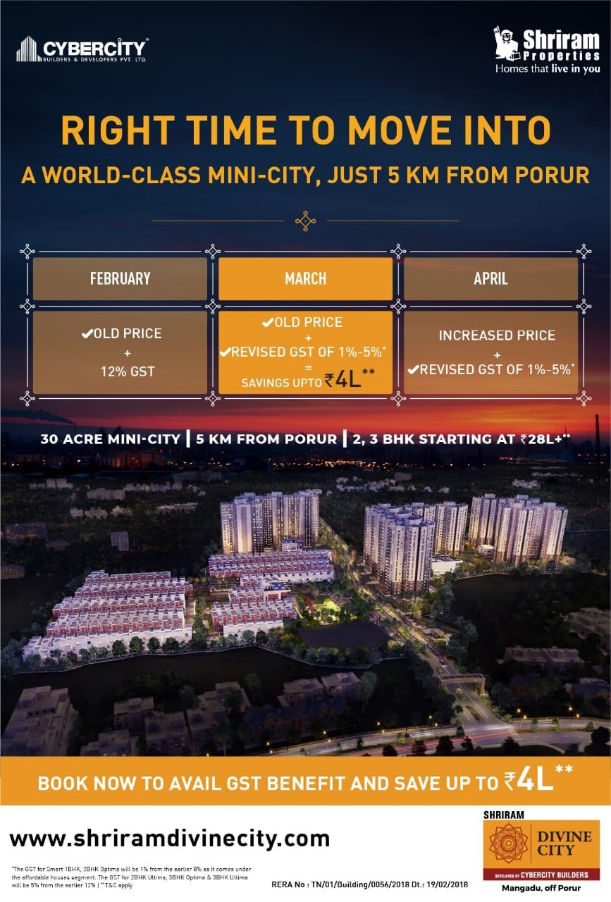 Apartment - Shriram Divine City
