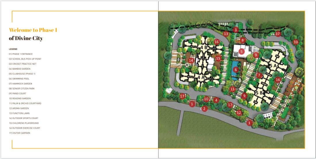 Master Plan - Shriram Divine City